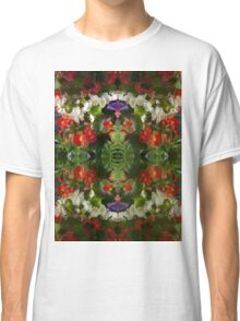 Flowers reflection by four Classic T-Shirt