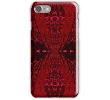 Red Hour Glass iPhone Case/Skin