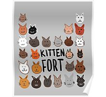 Because, Cats. Poster