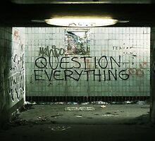 Question Everything by Schuurman050