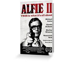 Alfie 2 Greeting Card