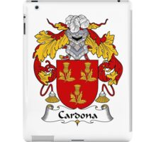 Cardona Coat of Arms/Family Crest iPad Case/Skin