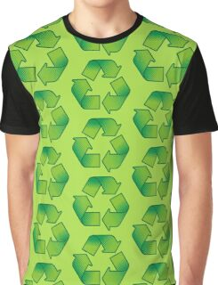 Recycling symbol Graphic T-Shirt