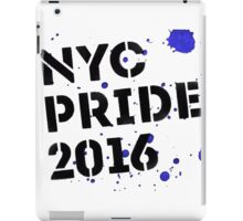 NYC PRIDE 2016 iPad Case/Skin