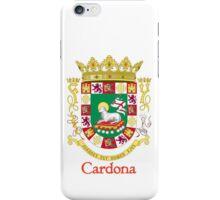 Cardona Shield of Puerto Rico iPhone Case/Skin