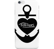 The Fosters Heart Anchor iPhone Case/Skin