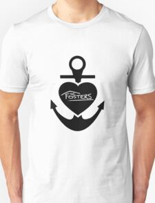 The Fosters Heart Anchor Unisex T-Shirt