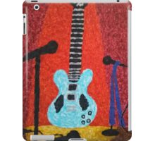 Guitar on Stage iPad Case/Skin