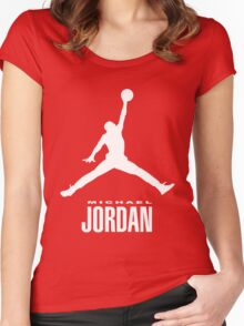 michael jordan Women's Fitted Scoop T-Shirt