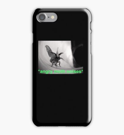 Angry Moth Noises iPhone Case/Skin