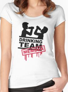 Drinking Team Member Women's Fitted Scoop T-Shirt