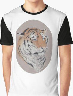 Unimpressed - Blue Eyed Tiger Graphic T-Shirt