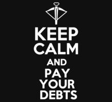 Tyrion Lannister - Keep calm and pay your debts (crossbow) by MalcolmWest