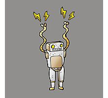 Excited Robot Photographic Print