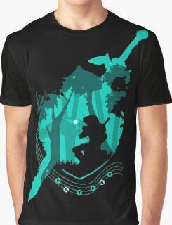 Link Ocarina Graphic T-Shirt