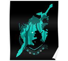 Link Ocarina Poster