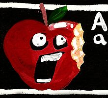 A for Apple by IanLeeOliver