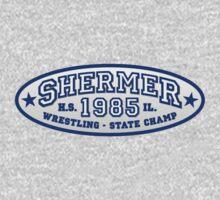Shermer High Wrestling - State Champ [ BREAKFAST CLUB - 80's ] by vertigocreative