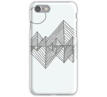 Lines 8 iPhone Case/Skin