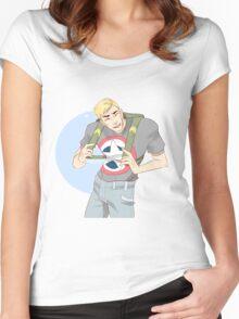 Cinnamon Cap Women's Fitted Scoop T-Shirt