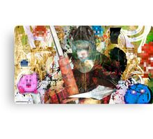 Kirby! Pixel Design Canvas Print