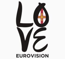 LOVE Eurovision [Guernsey] One Piece - Long Sleeve