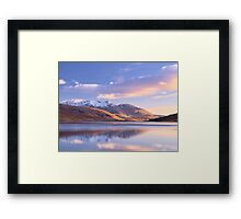 Loch Etive: Perfect Moment Framed Print