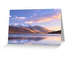 Loch Etive: Perfect Moment Greeting Card