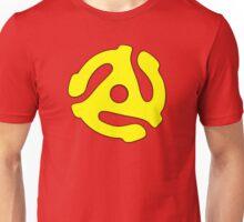 Record adapter yellow Unisex T-Shirt
