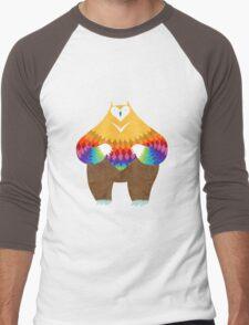 OwlBear Men's Baseball ¾ T-Shirt