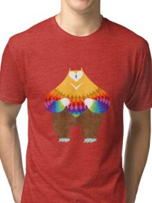 OwlBear Tri-blend T-Shirt
