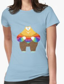 OwlBear Womens Fitted T-Shirt