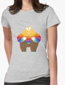 OwlBear Womens Fitted T-Shirt
