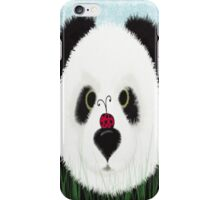 The Panda Bear And His Visitor iPhone Case/Skin