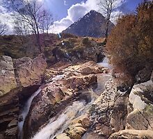 Buachaille Etive Mor from the River Coupall by Tim Haynes