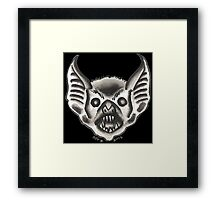 Watercolor BAT Framed Print