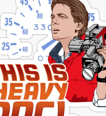 This Is Heavy Doc! Sticker