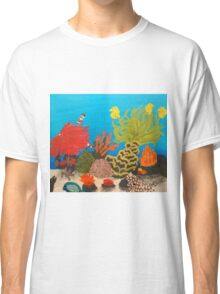 My Little Mermaid Coral Reef Classic T-Shirt