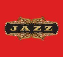 Gold jazz One Piece - Long Sleeve