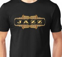 Gold jazz Unisex T-Shirt