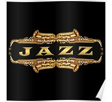 Gold jazz Poster