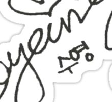 Girls' Generation Signatures - Sooyoung Sticker