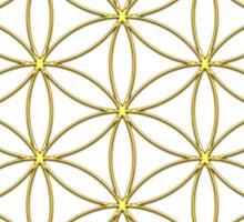 Flower of life - Gold, healing & energizing Sticker
