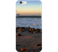 Ocean Wave Storm Pier iPhone Case/Skin