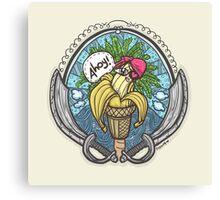 Banana Pirate! 3 Canvas Print