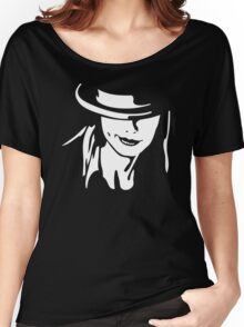 Girl And Hat Women's Relaxed Fit T-Shirt