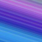 Diagonal Blue 2 by Betty Mackey