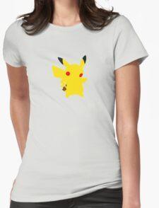 Mouse Pokemon - Pikachu Womens Fitted T-Shirt