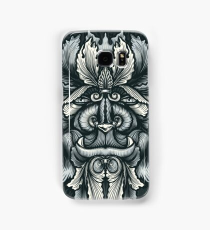 Filigree Leaves Forest Creature Beast Variant Samsung Galaxy Case/Skin