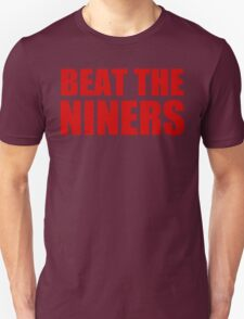 New York Giants - BEAT THE NINERS - Red T-Shirt